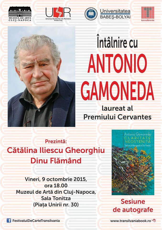 Întâlnire cu Antonio Gamoneda @ Muzeul de Artă