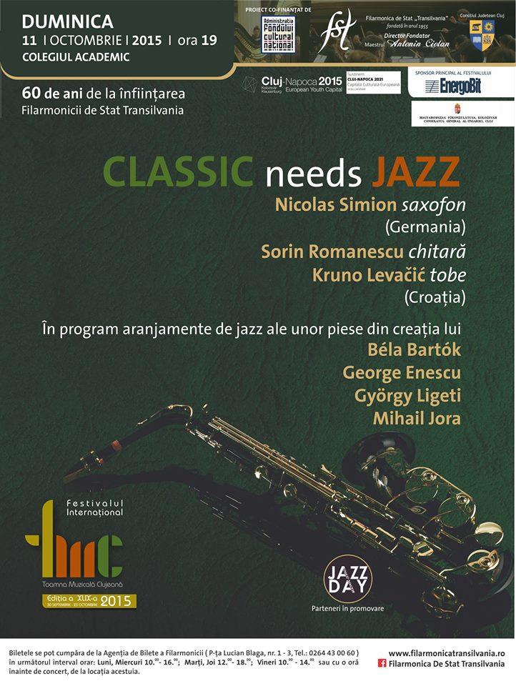 Classic Needs Jazz @ Colegiul Academic