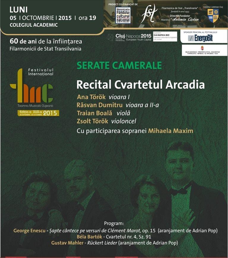 Cvartetul Arcadia @ Colegiul Academic