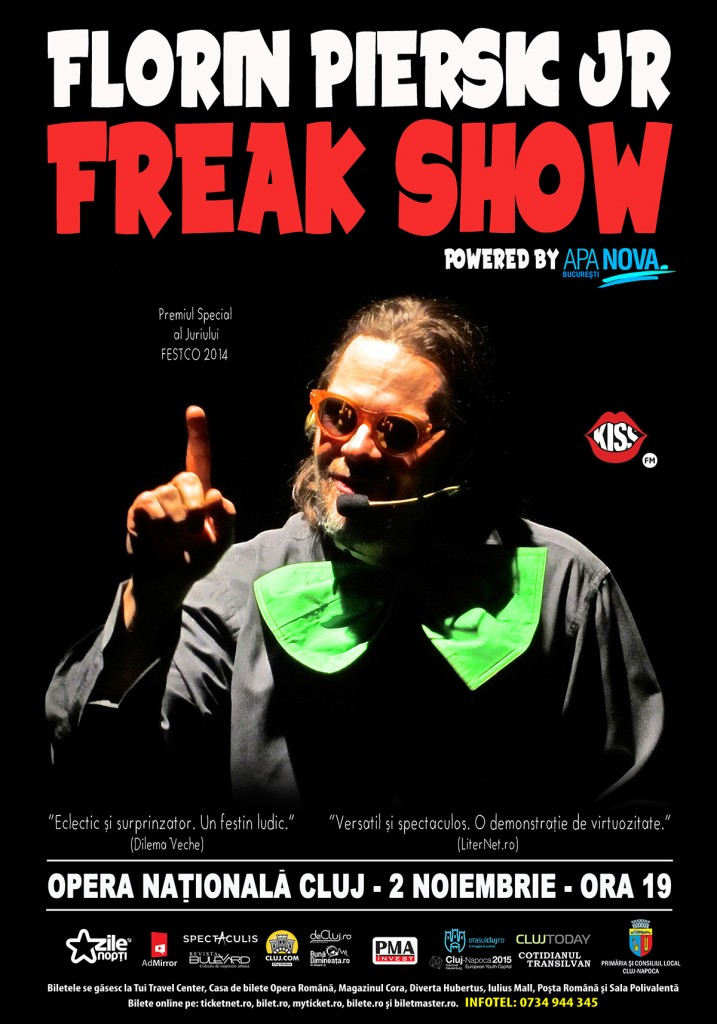 Freak Show w/ Florin Piersic Jr.
