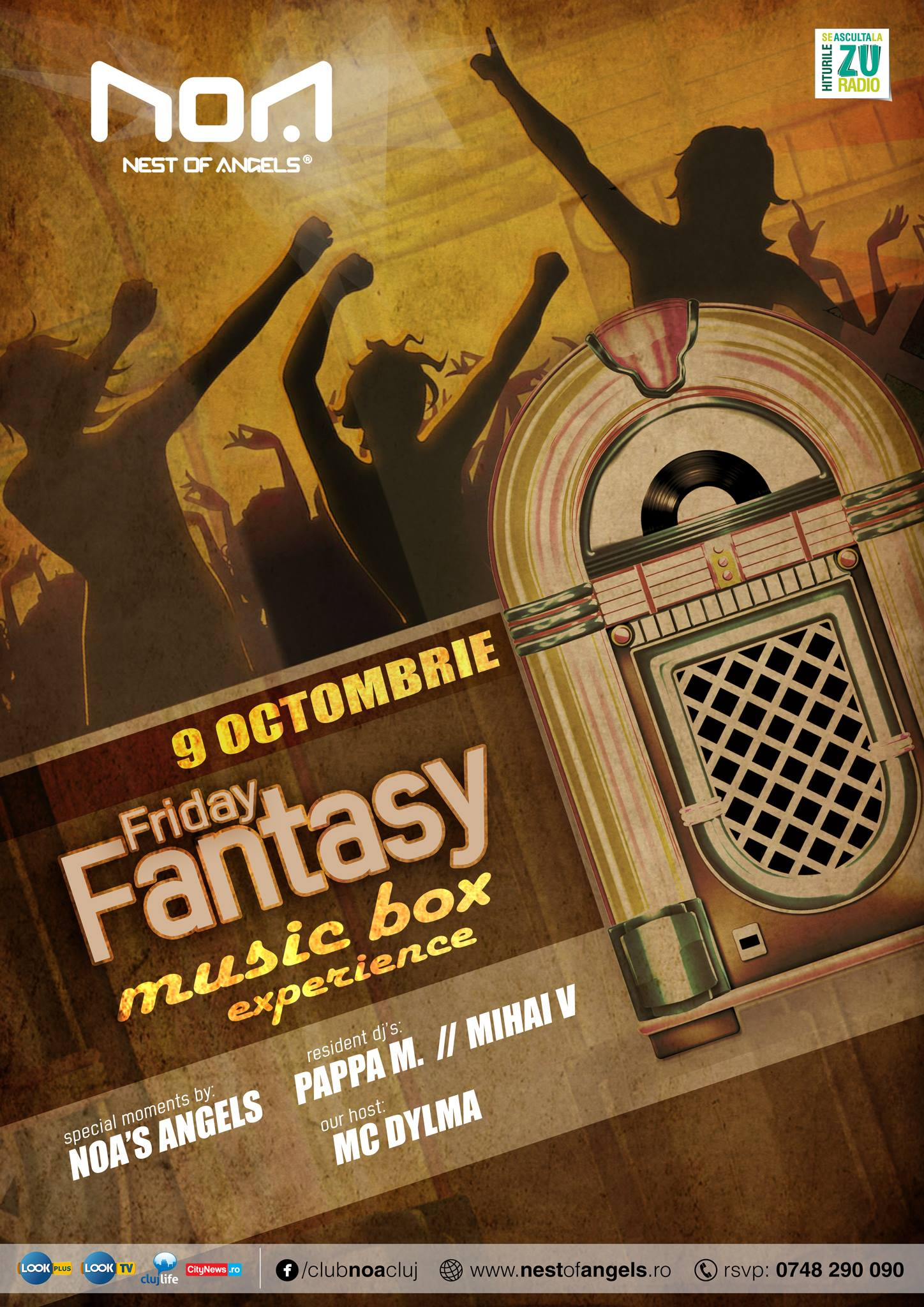 Friday Fantasy @ Club NOA
