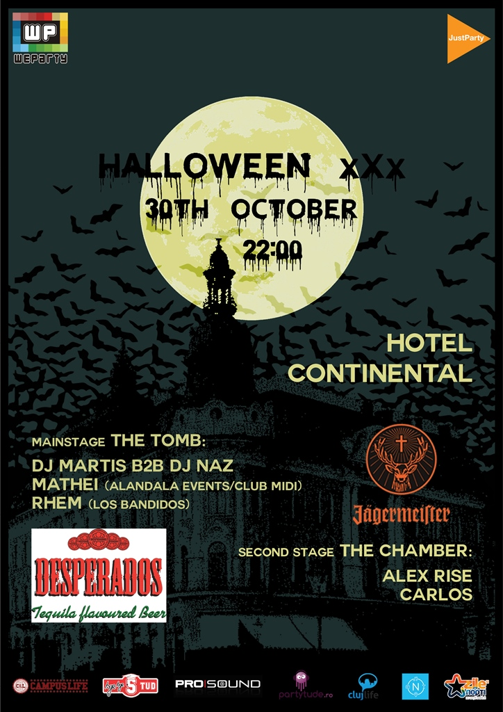 Halloween xXx @ Hotel Continental