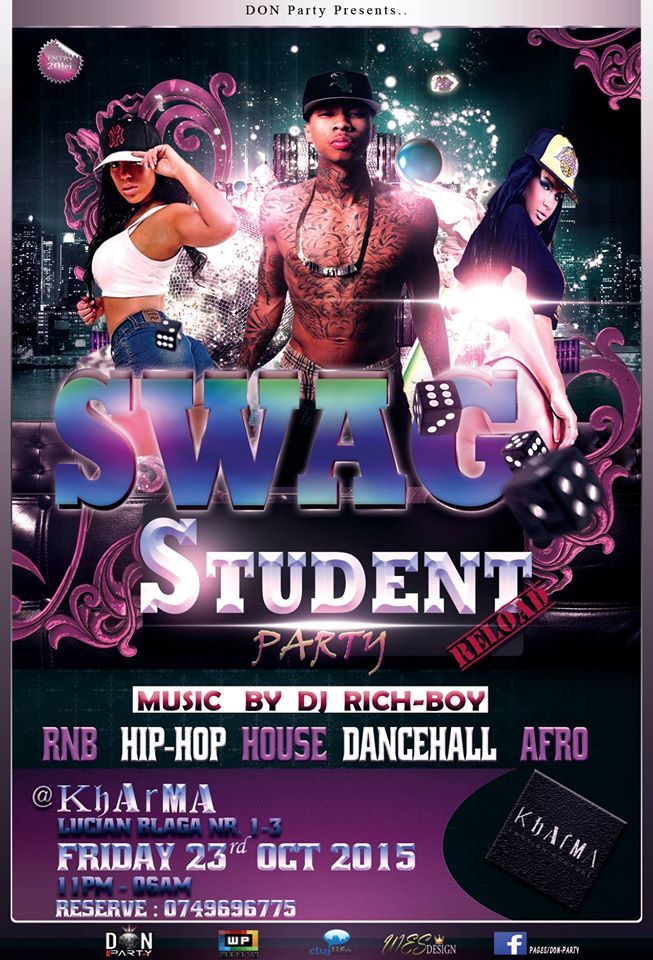 Swag Student Party @ Kharma Emotion Couture