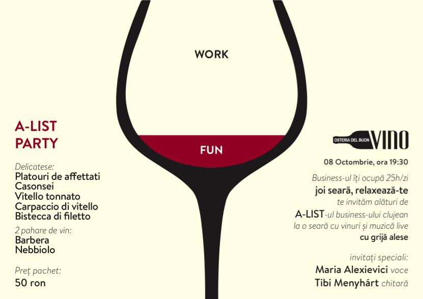Work | Fun @ Osteria del Buon Vino