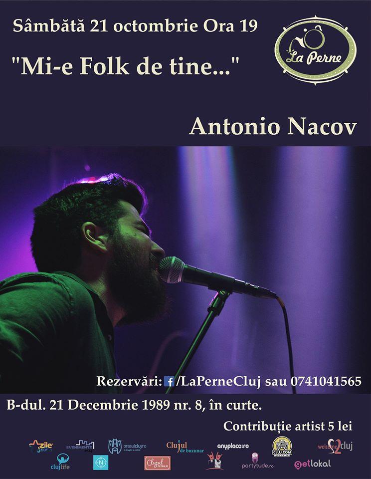 Antonio Nacov @ La Perne