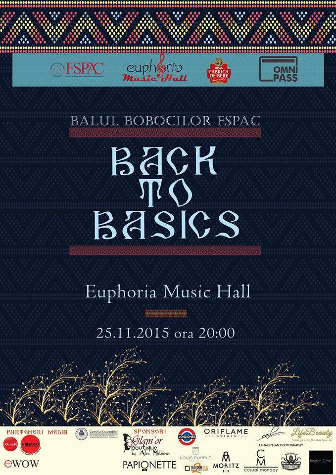 Balul Bobocilor FSPAC @ Euphoria Music Hall