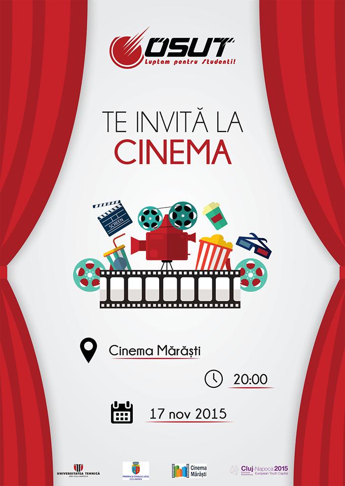 OSUT te invită @ Cinema Mărăști
