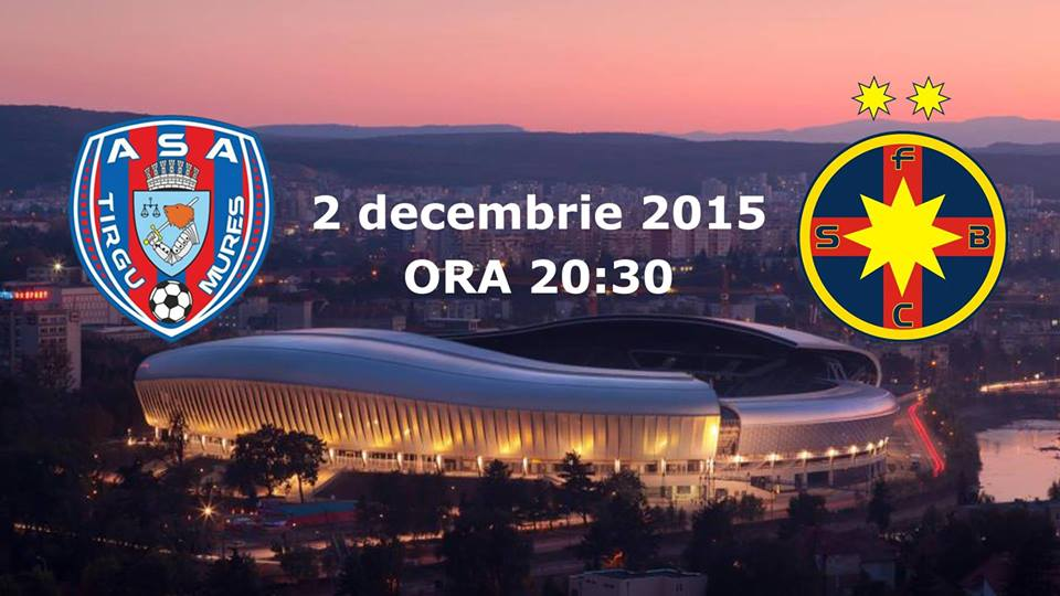 ASA Targu Mures – FCSB @ Cluj Arena