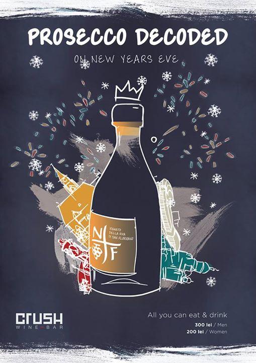 New Year's Eve @ Crush Wine Bar