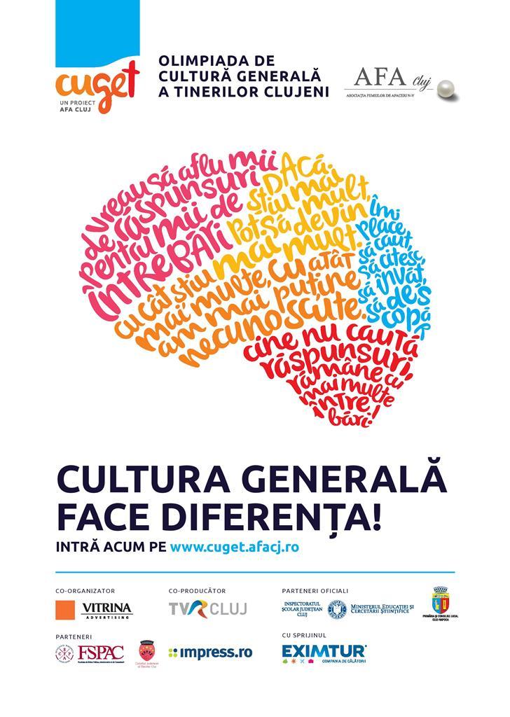 Se lansează lansează CuGeT, competiție de cultură generală din România