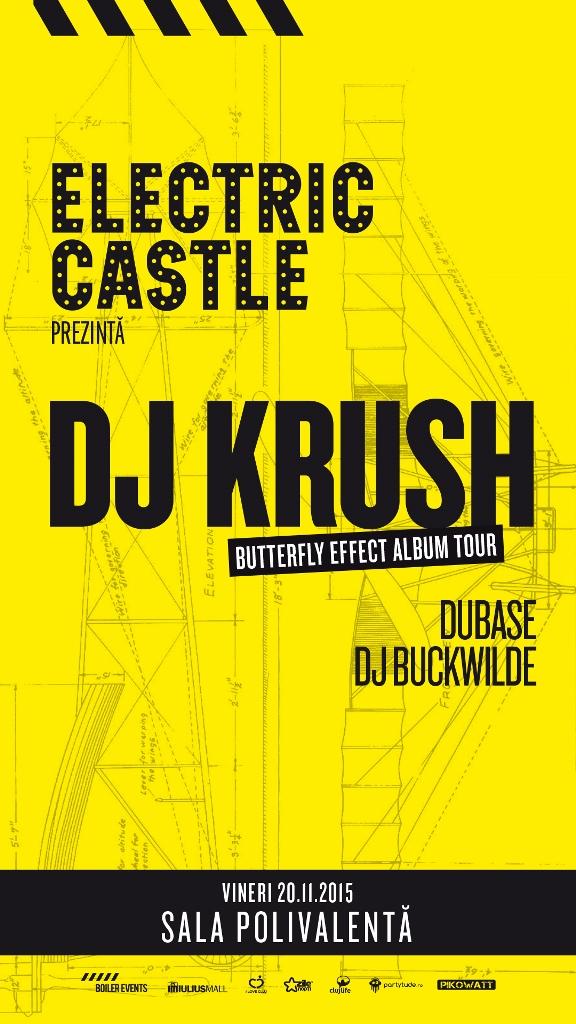 DJ Krush @ Sala Polivalentă