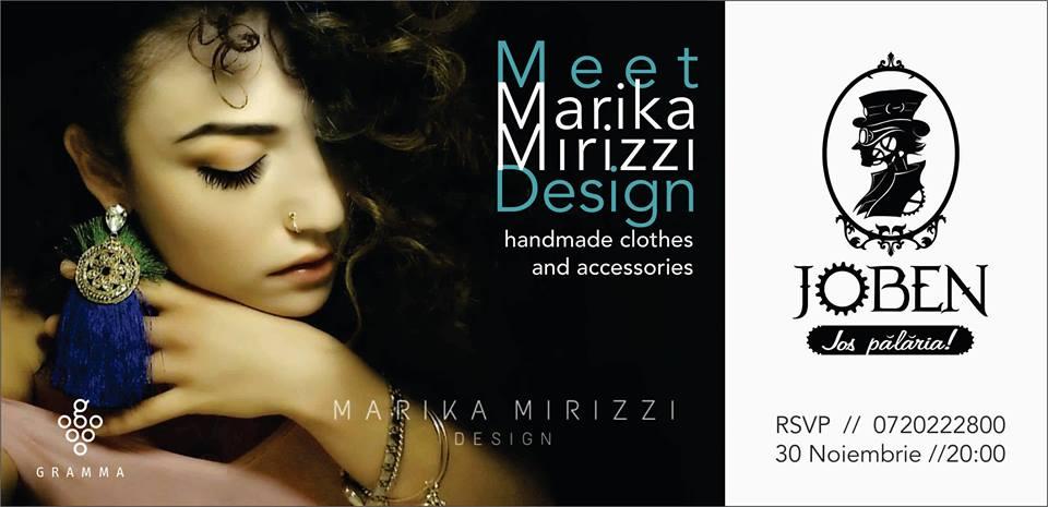 Meet Marika Mirizzi Design @ Joben Bistro