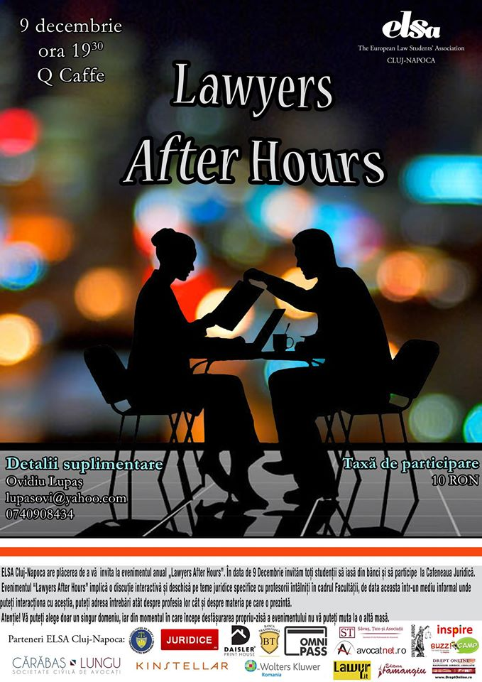 Lawyers After Hours @ Q Caffe