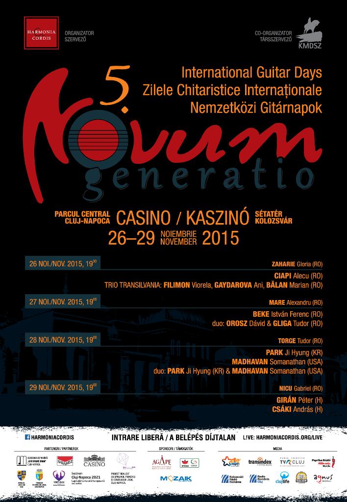 Zilele Chitaristice Internaționale @ Clădirea Casino