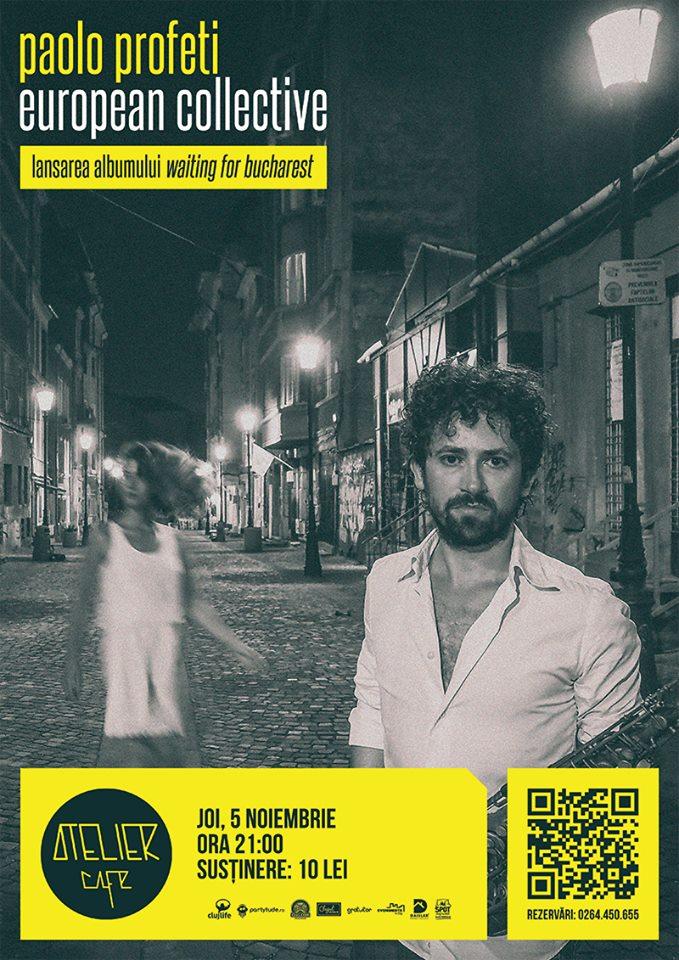 Paolo Profeti European Collective @ Atelier Cafe