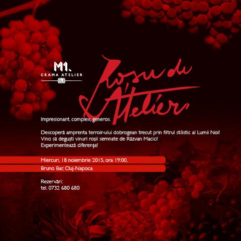 Rosu de Atelier @ Bruno Wine Bar & Bistro