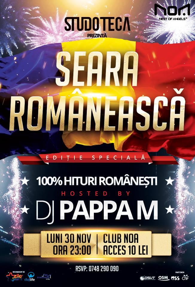 Seară românească @ Club NOA