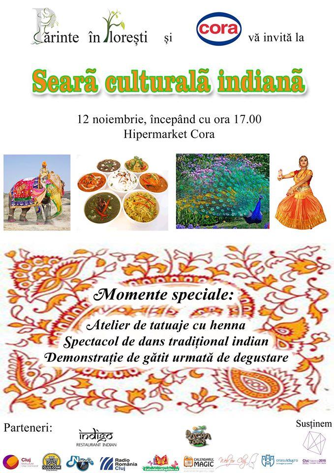 Seară Culturală Indiană @ Cora