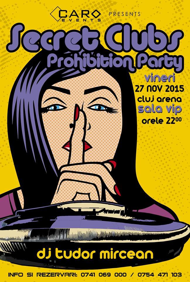 Prohibition Party @ Cluj Arena