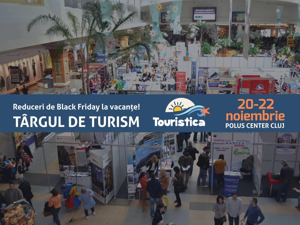 Black Friday la vacanțe: sute de oferte turistice weekend la Târgul Touristica
