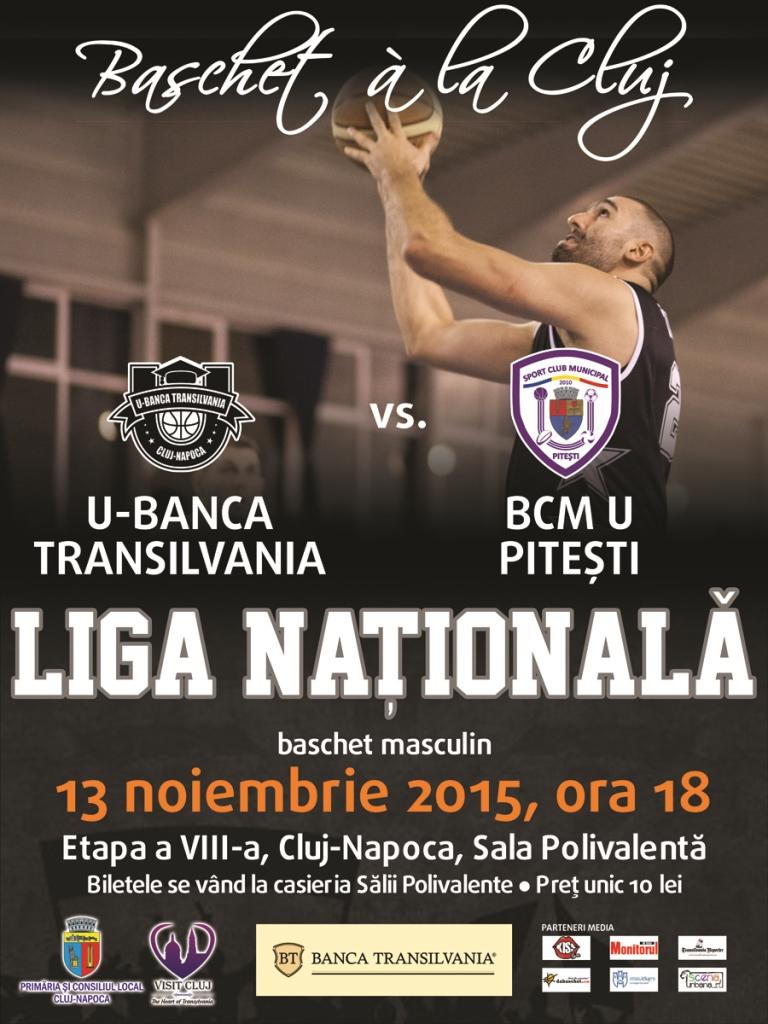 U-Banca Transilvania – BCM U Pitesti @ Sala Polivalentă