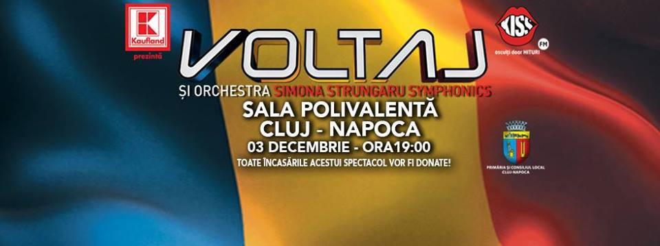 Voltaj – Din toată inima @ Sala Polivalentă
