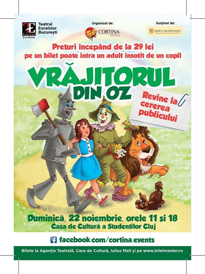 Vrăjitorul din Oz @ Casa de Cultură a Studenților