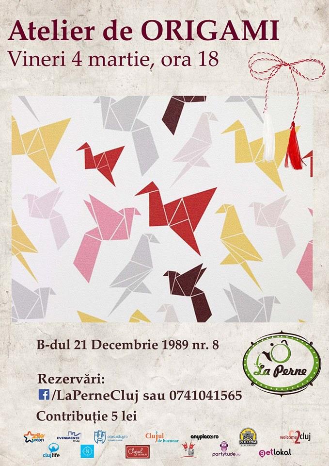 Atelier de origami @ La Perne