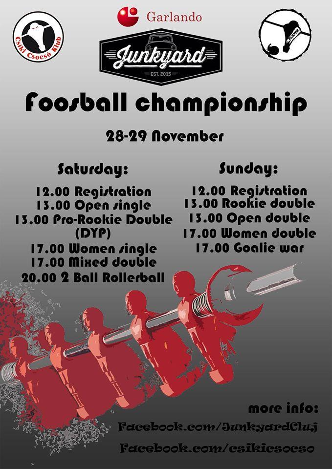 Foosball Championship @ Junkyard
