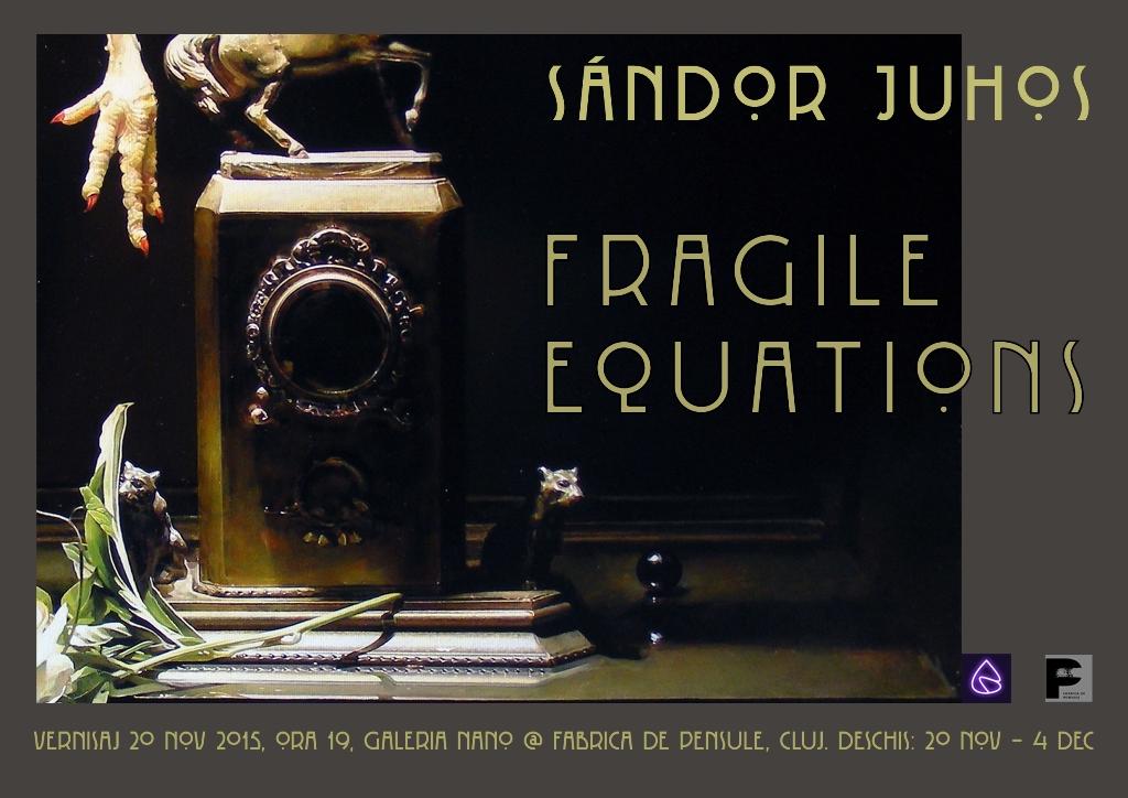 Fragile Equations @ Fabrica de Pensule