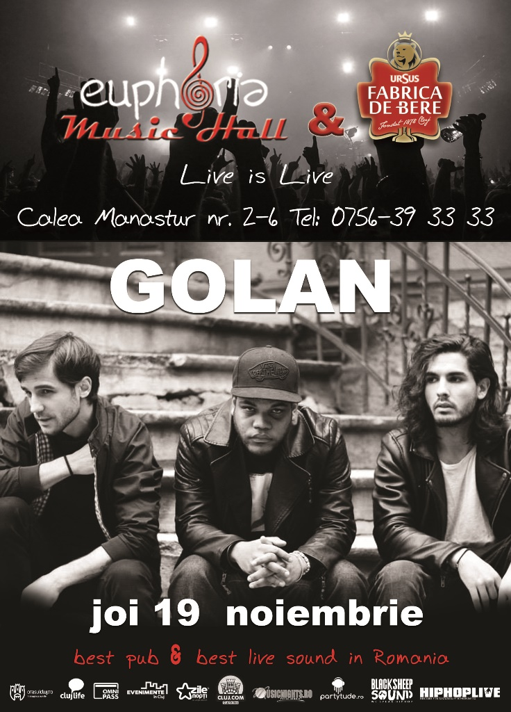 Golan @ Euphoria Music Hall