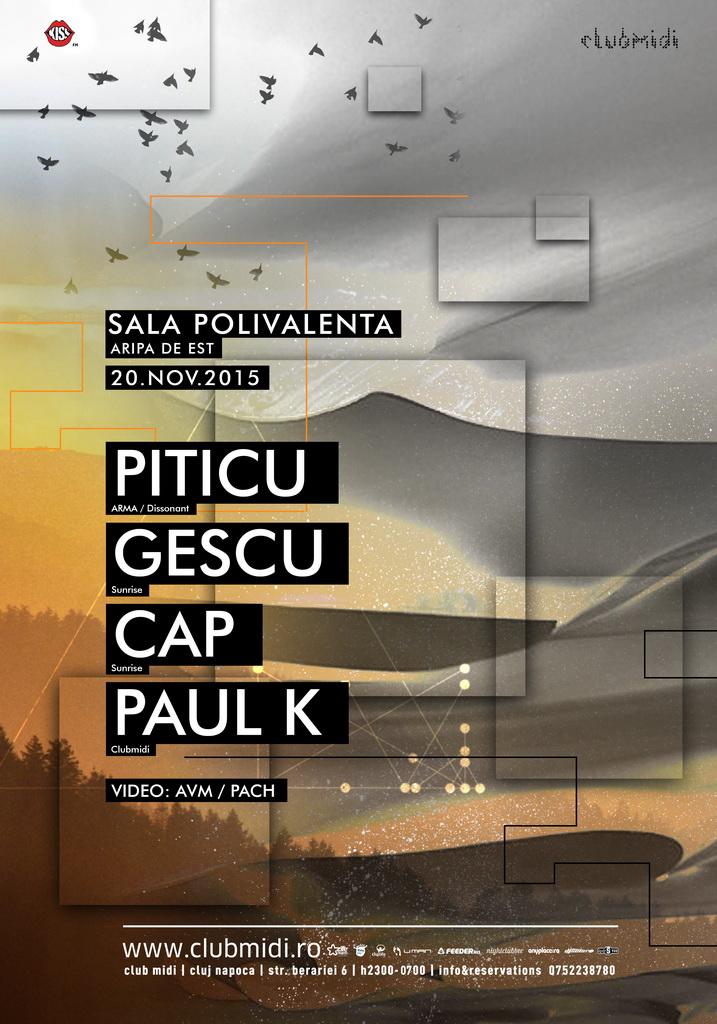 Piticu / Gescu / Cap / Paul K