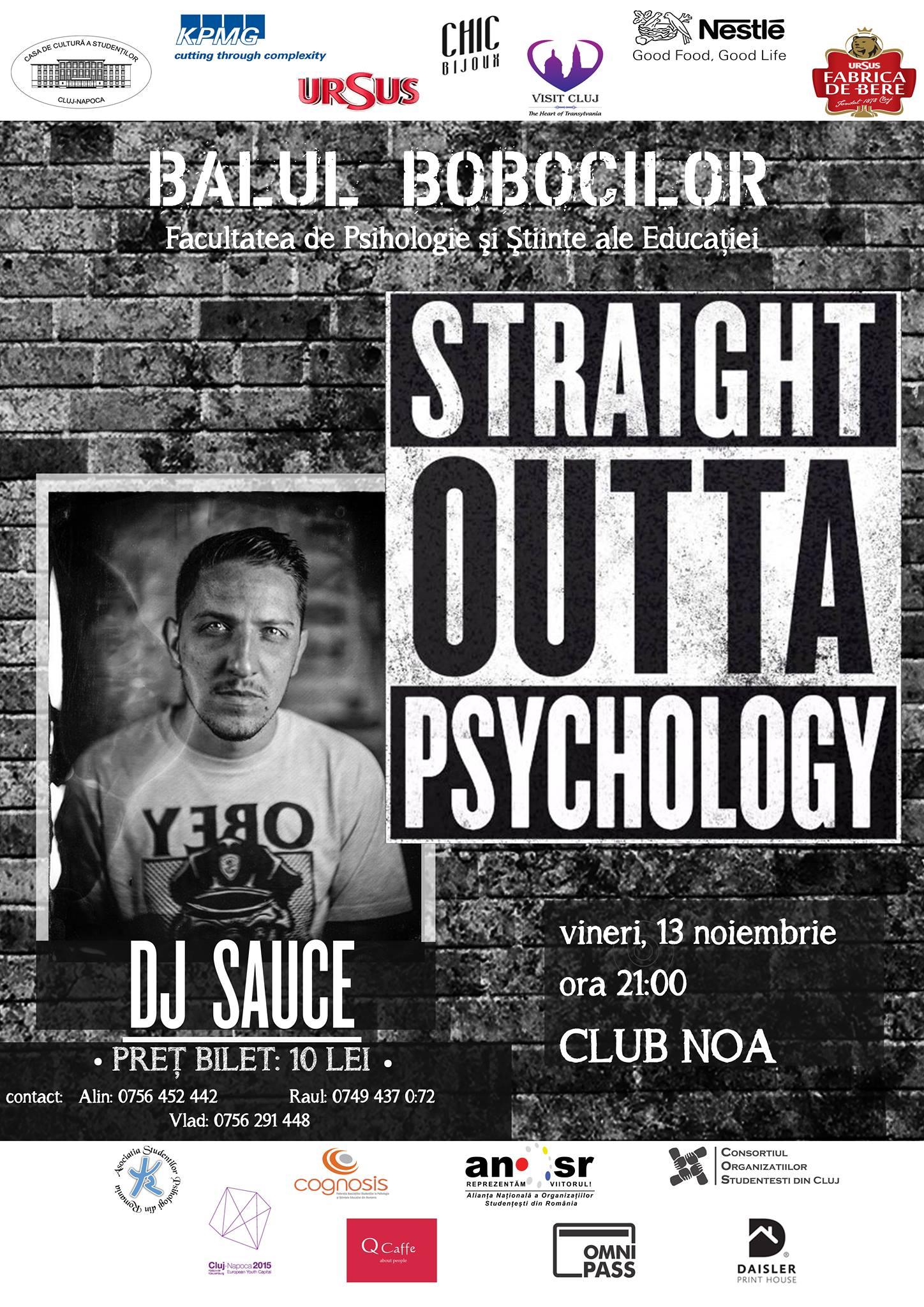 Balul Bobocilor Psihologie @ Club NOA