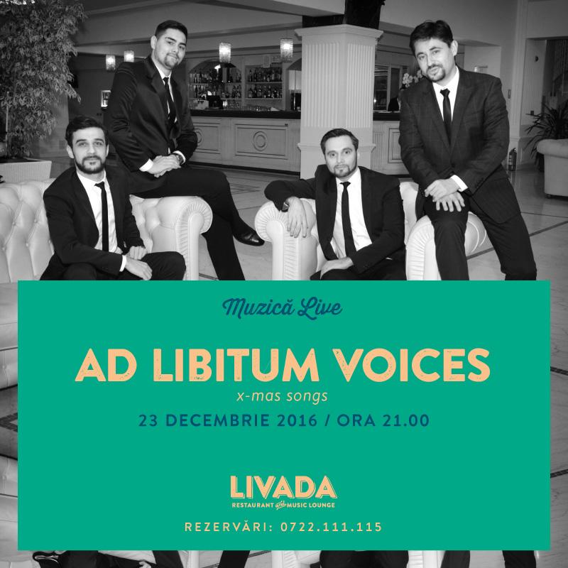 Ad Libitum Voices @ Restaurant Livada