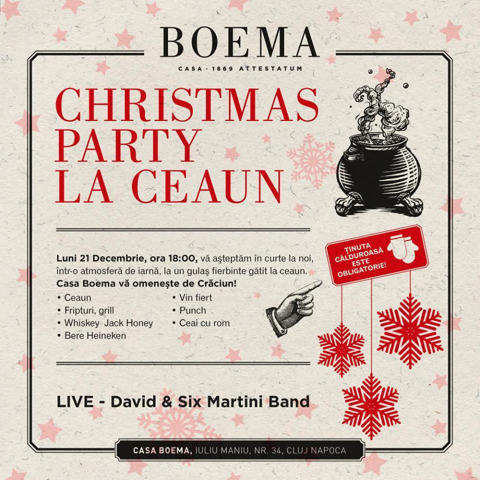 Christmas Party @ Casa Boema