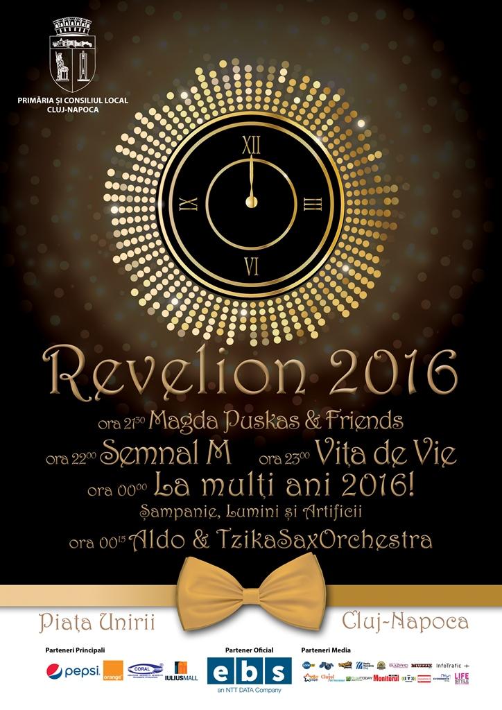 Revelion 2016 @ Piața Unirii