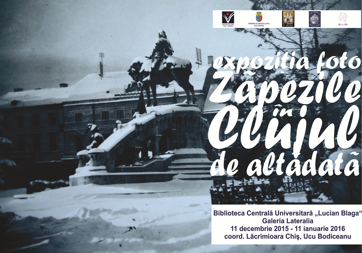 Zăpezile în Clujul de altădată @ BCU