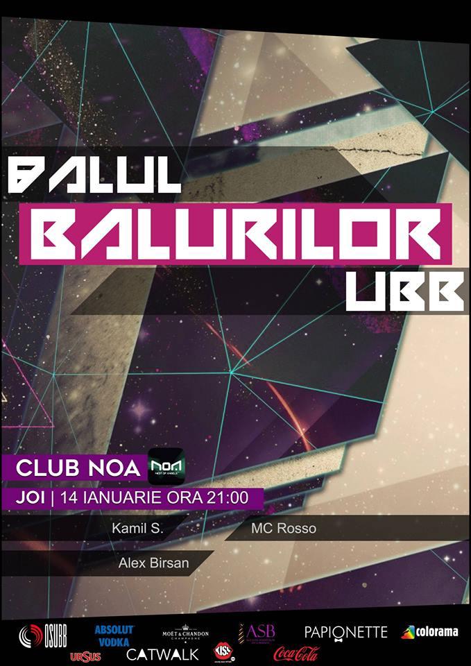 Balul Balurilor UBB @ Club NOA