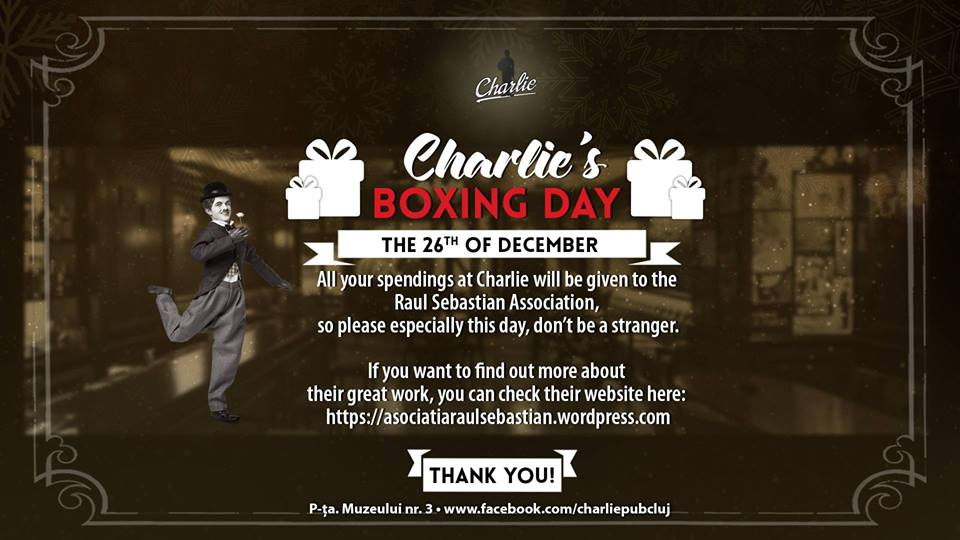 Boxing Day @ Charlie