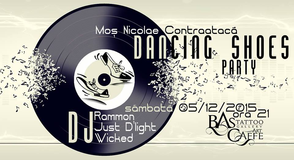Dancing Shoes @ BAStattoo Caffe
