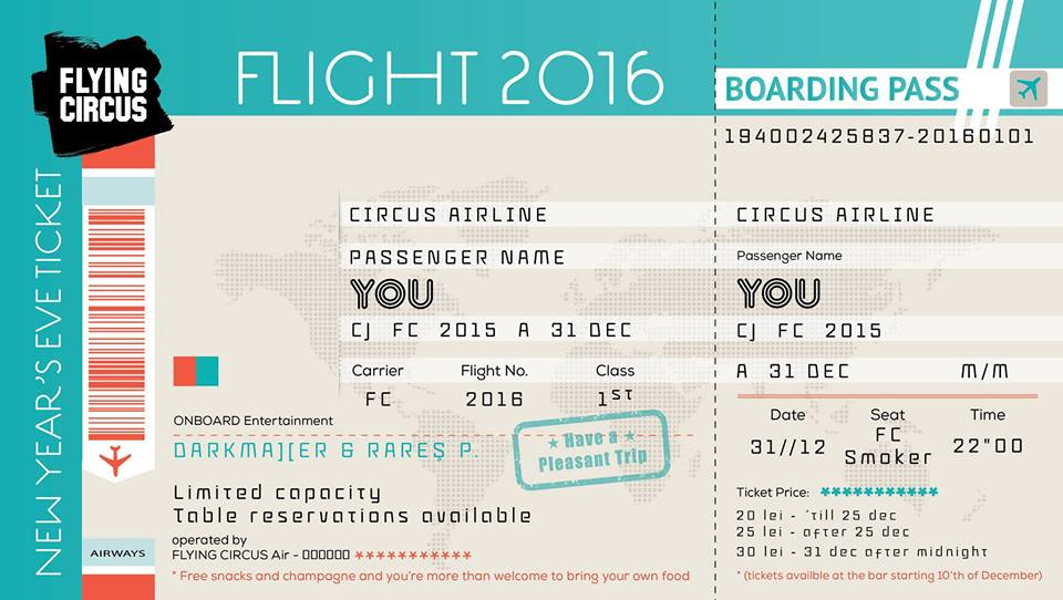 Flight 2016 @ Flying Circus Pub