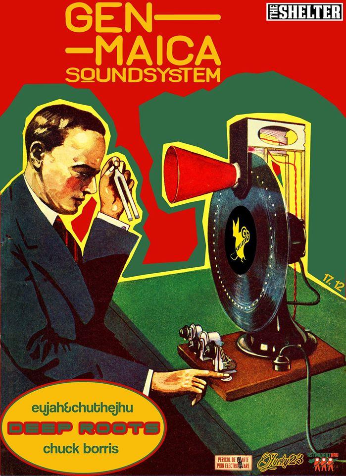 Genmaica Soundsystem / DeepRoots @ The Shelter