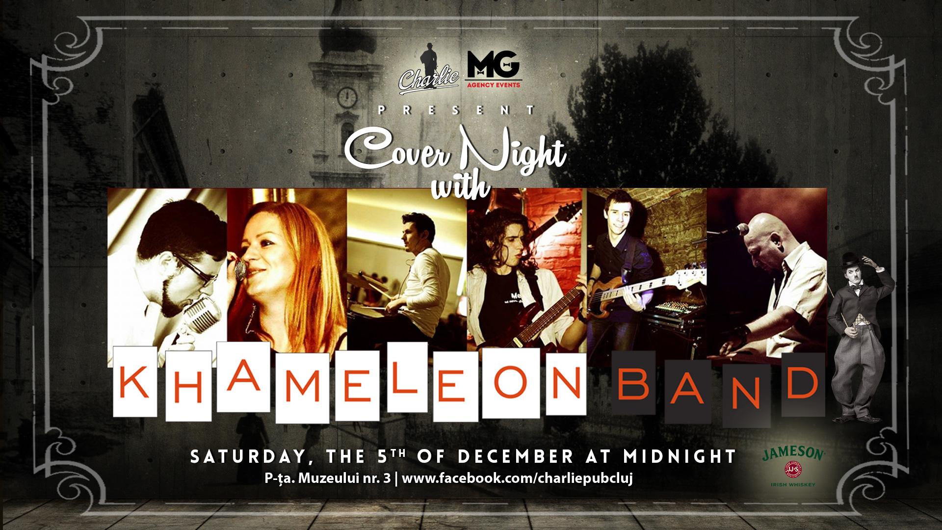 Cover Night with Khameleon Band @ Charlie