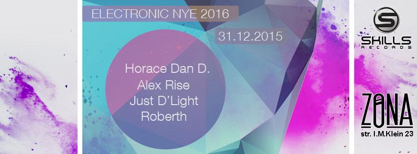 Electronic NYE 2016 @ Zona