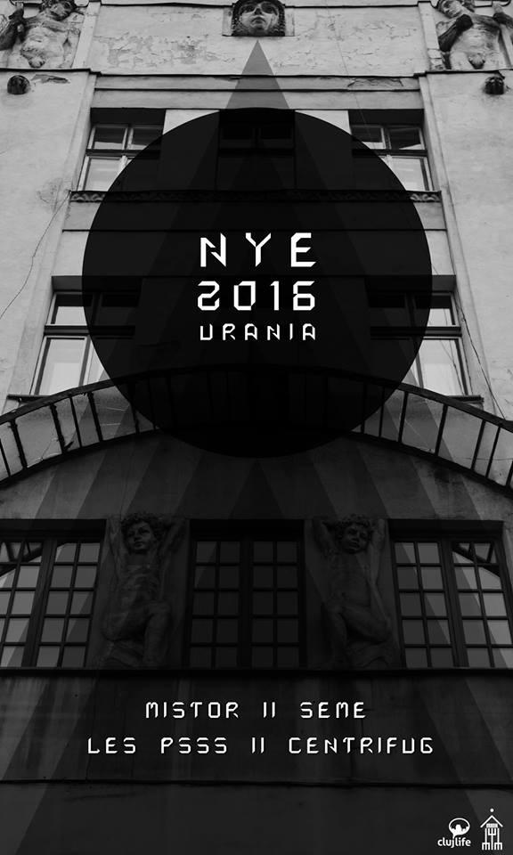 NYE 2016 @ Urania Palace