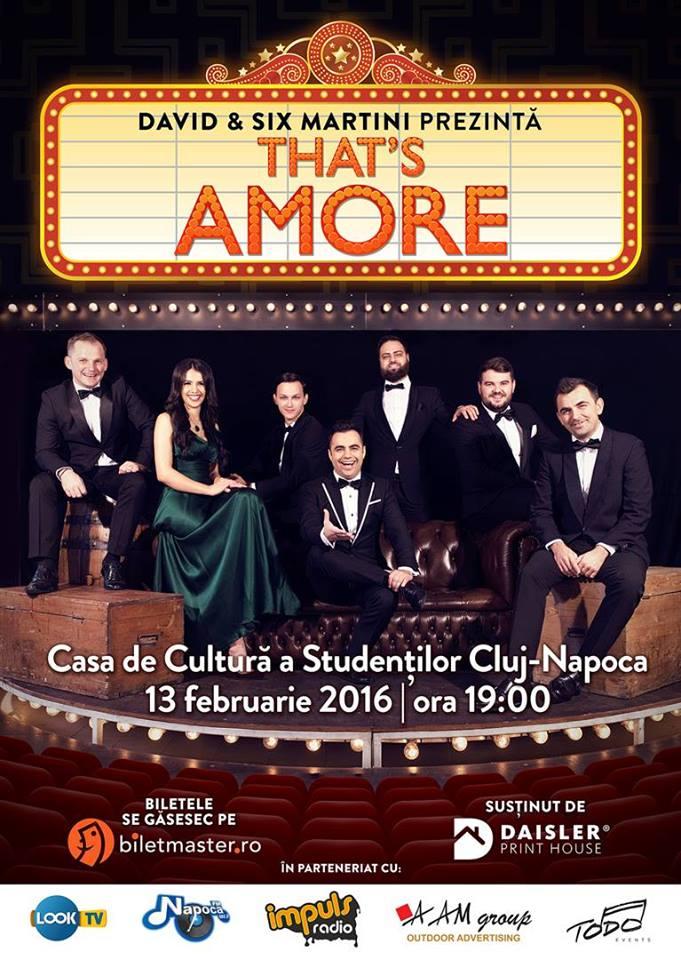 That's Amore @ Casa de Cultură