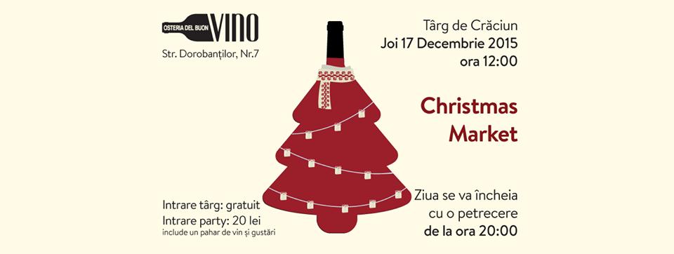 Christmas Market @ Osteria del Buon Vino