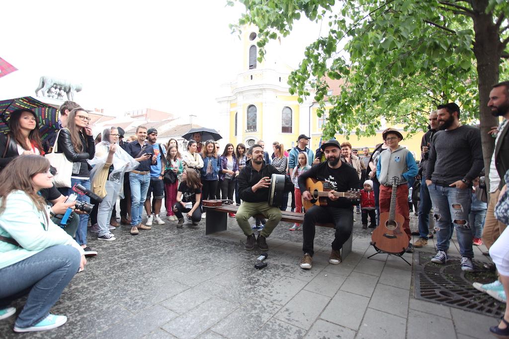 Clujul, animat de artă. Mii de persoane prezente la Jazz in the Street