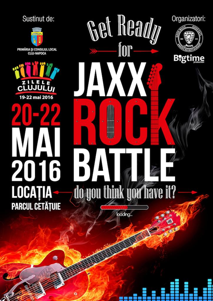 Jaxx Rock Battle @ Parcul Cetățuie