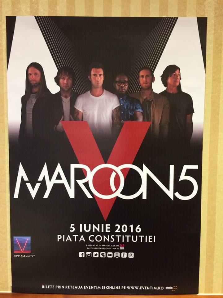 Maroon 5 @ Piata Constituției, București